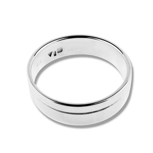 MERIDIAN RING - Sterling Silver top