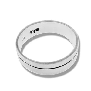 MERIDIAN RING - Sterling Silver top od