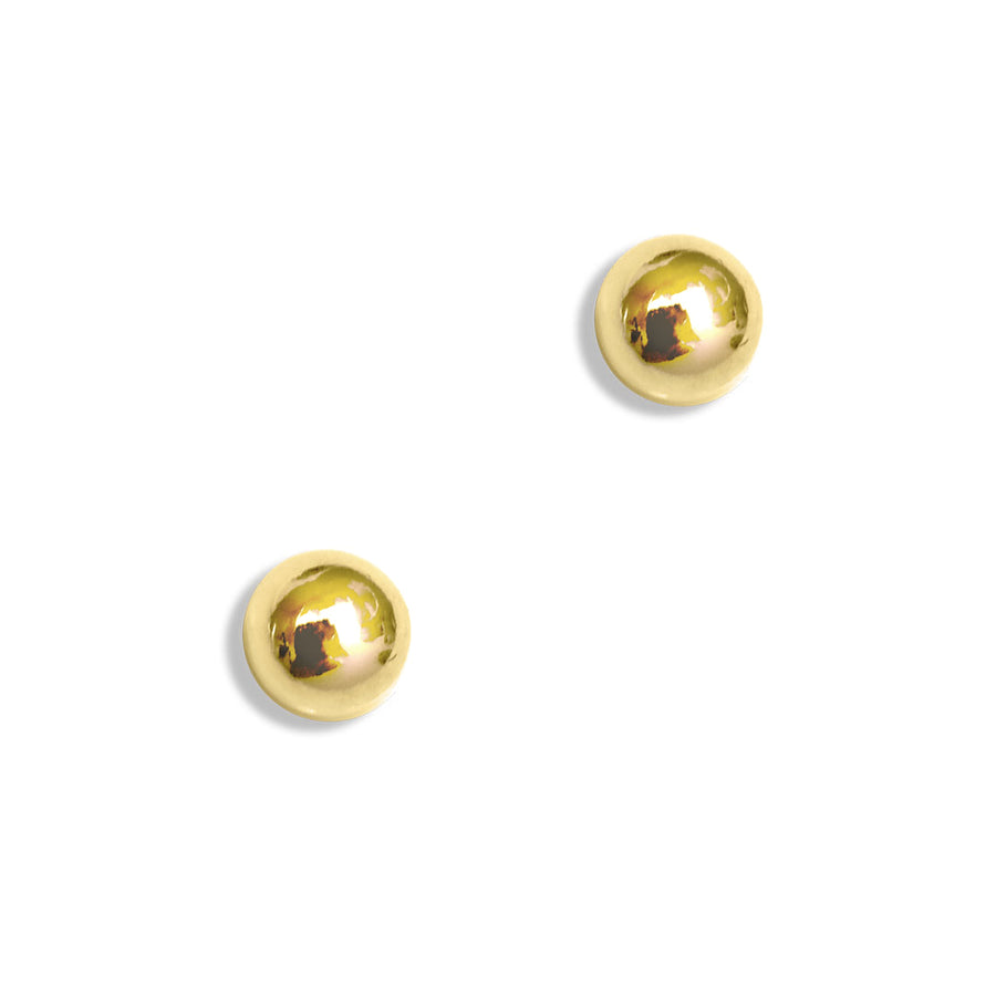 Perfect Dot Earrings - Gold