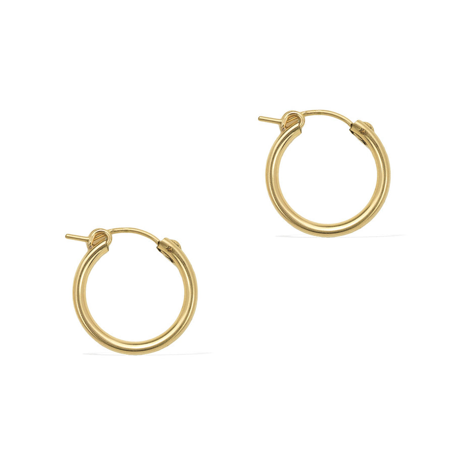 Perfect Hoop Earrings 19mm - Gold