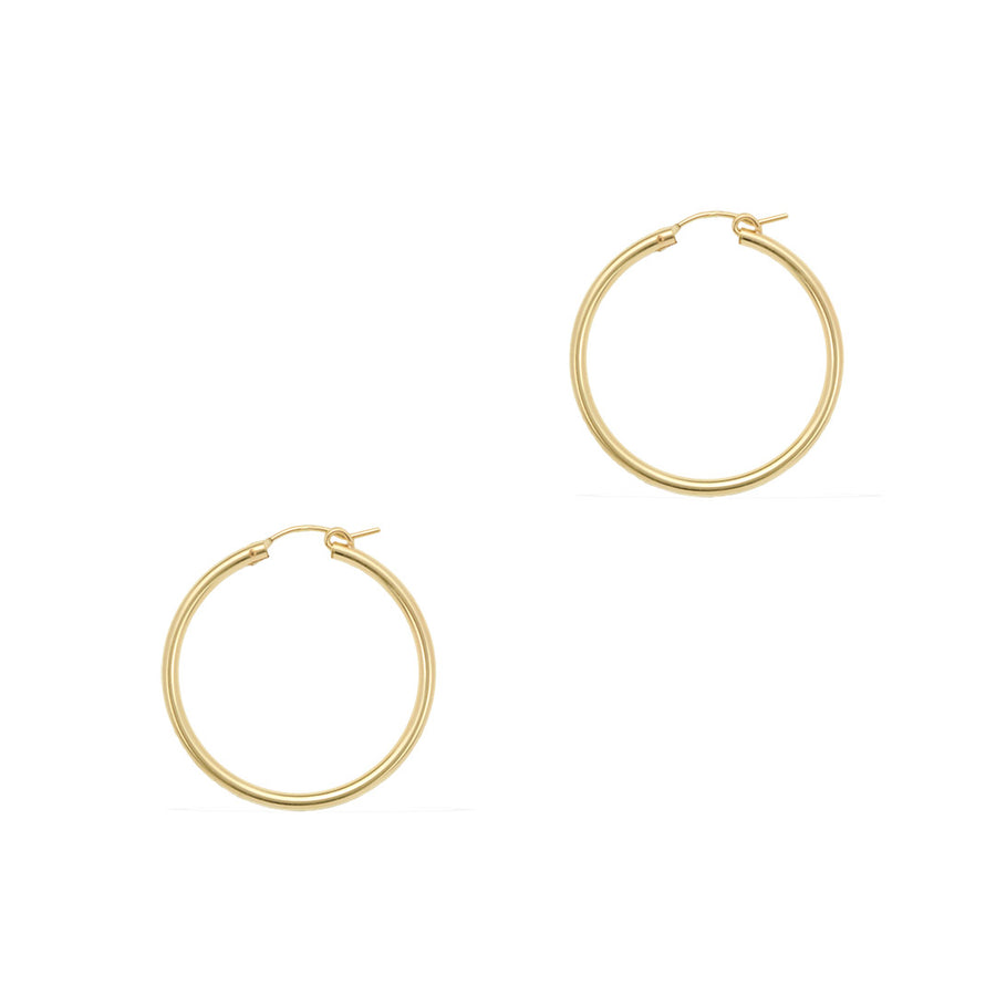 Perfect Hoop Earrings 35mm - Gold