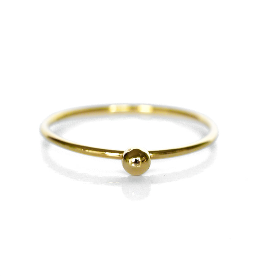Perfect Dot Ring - Gold