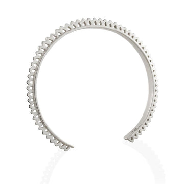 RAINDROP BANGLE - Sterling Silver
