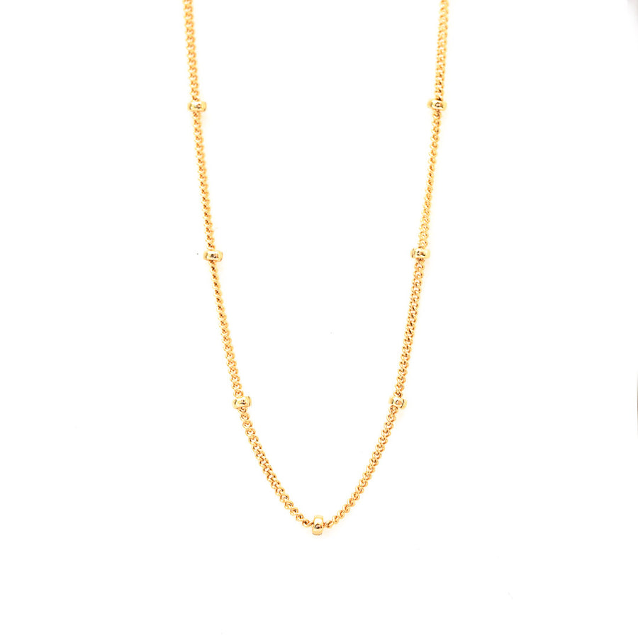 Satellite Curb Chain - Gold