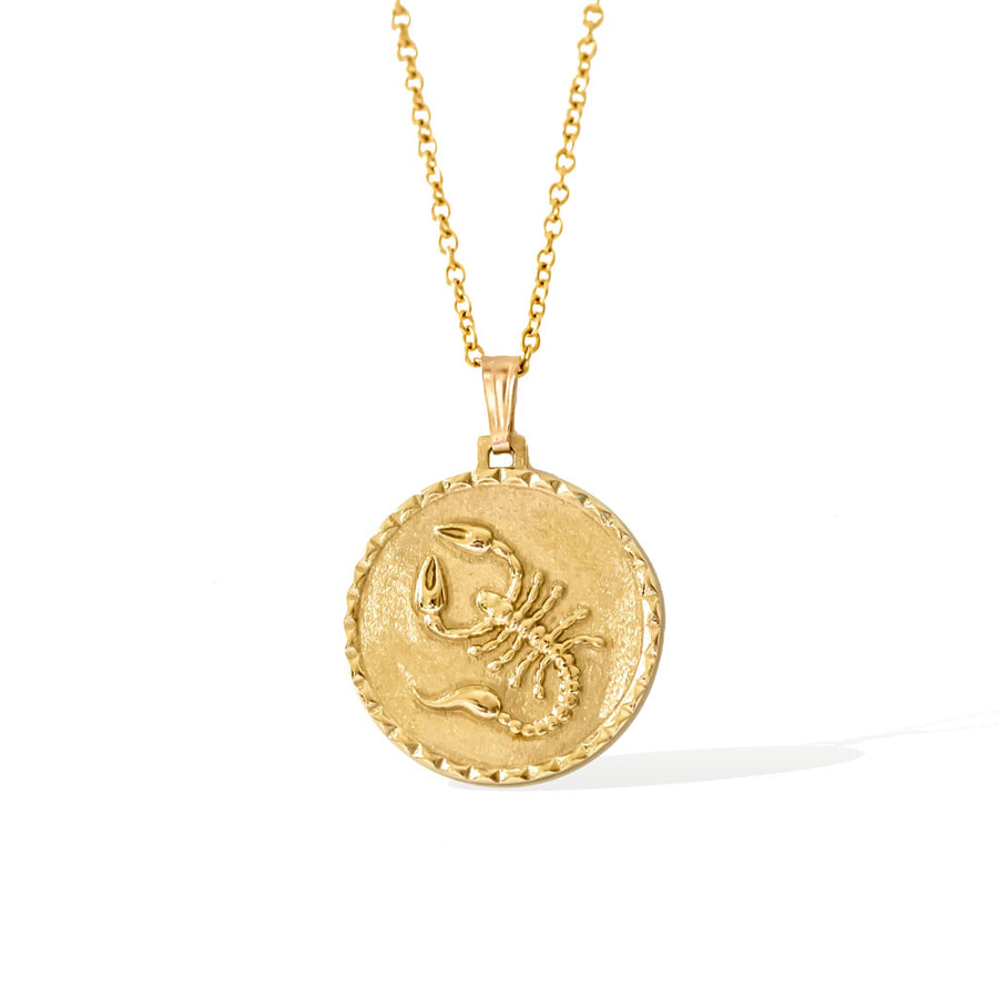 The Scorpio Necklace - Gold