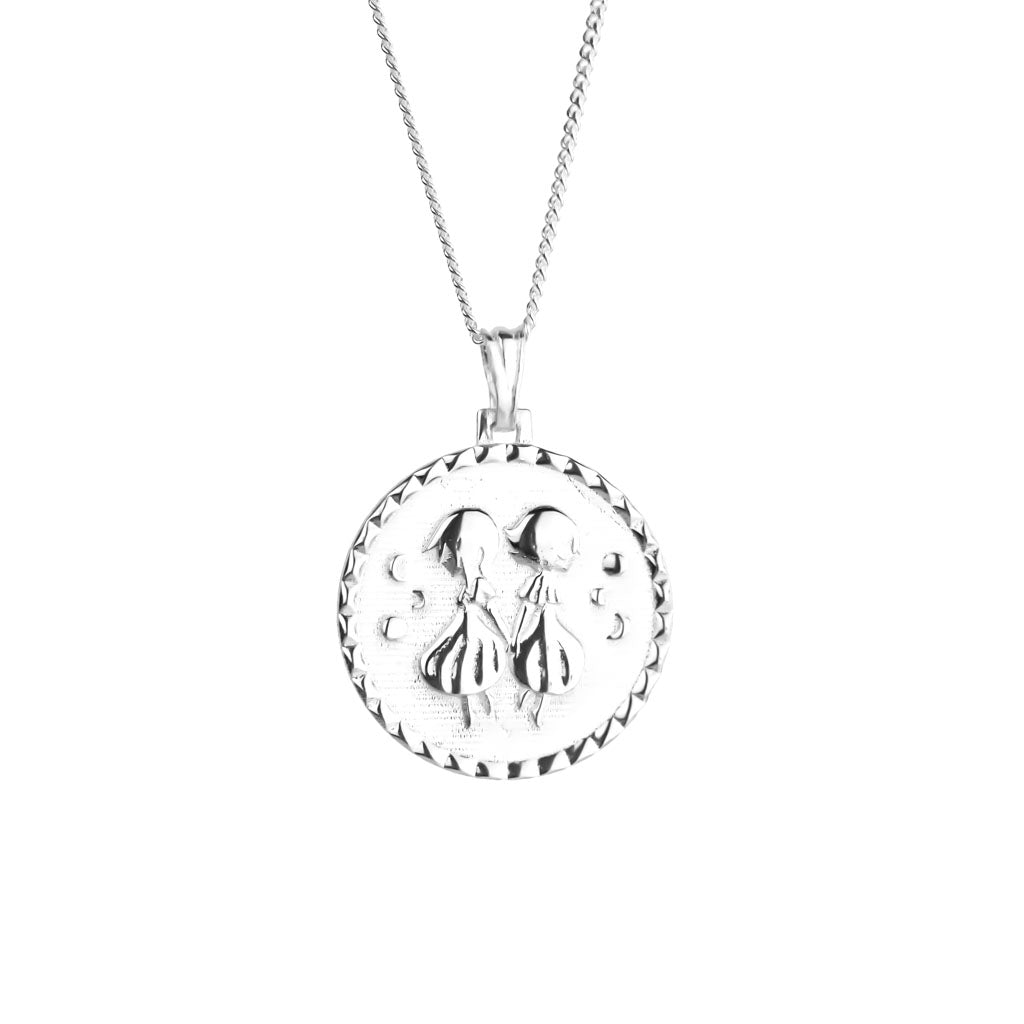 bisjoux necklace gemini pendant