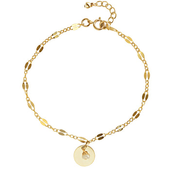 Unity Bracelet - Gold and Pearl