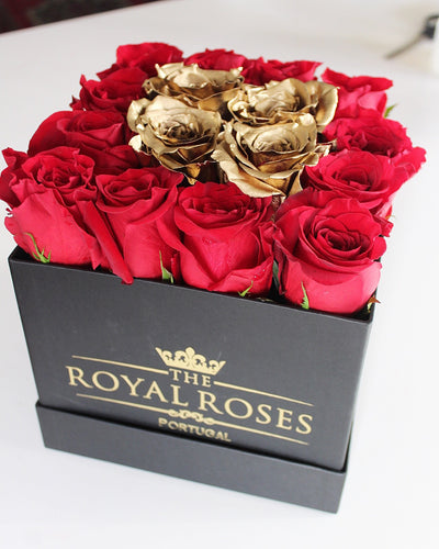 Royal Red & Gold Box