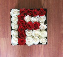 Royal Letter Box - White & Red