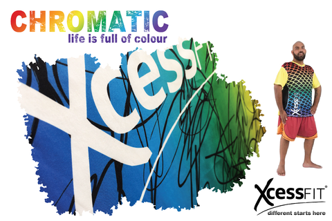xcessfit chromatic graphic