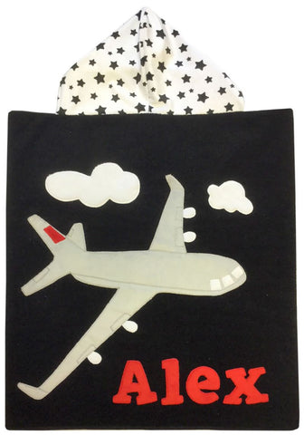 Fly High Luxe Terry Hooded Towel