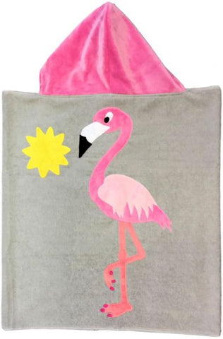 Luxe Terry Sunbird Toddler Hooded Towel