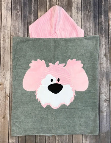 My Dog Spot Luxury Terry  Hooded Towel