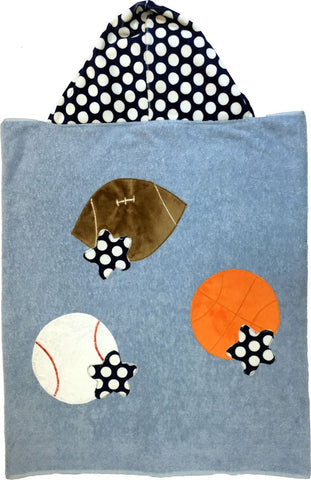 Personalized Reversible All Sports Cuddly Blanket