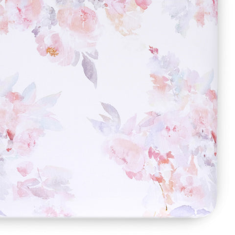 Prim Soft Floral Watercolor Sheet