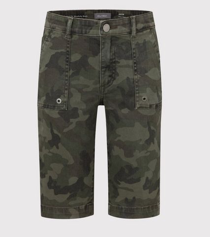 Sustainable Denim Camo Chino Short