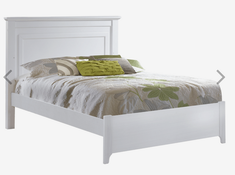 "Natart Taylor Double Bed 54"" low profile footboard"