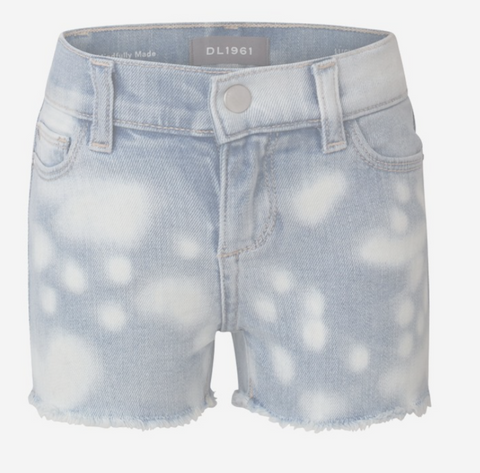 Sustainable Denim Spot Dye Cutoff Short