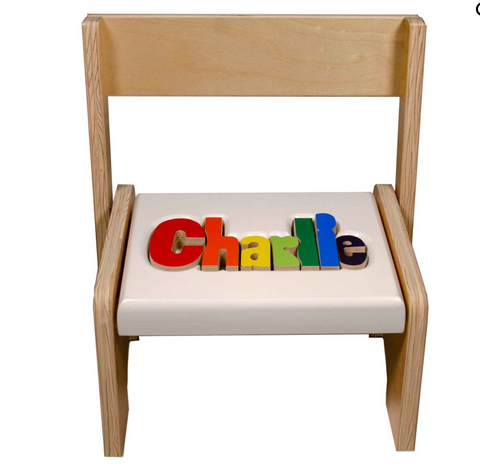 Personalized Step Stoo/Chair