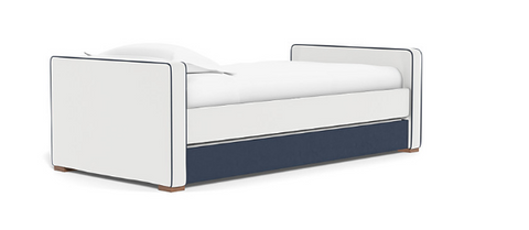 Dorma Twin Day Bed, Low Headboard, Low Footboard