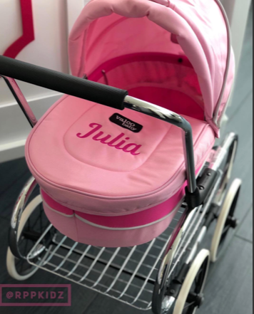 Personalized Baby Doll Carriage