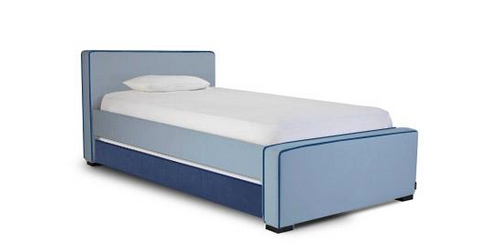 Dorma Twin Bed Low Headboard, Low Footboard