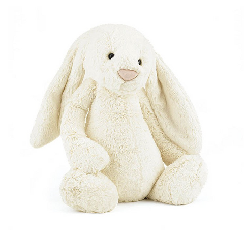 Bashful Bunny Large Personalized