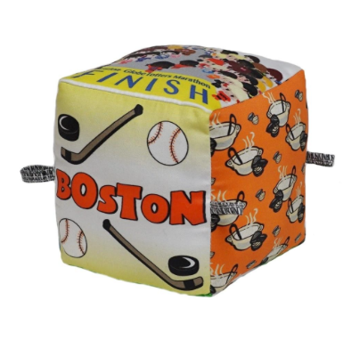 Boston Organic Cotton Vibrant Art Block