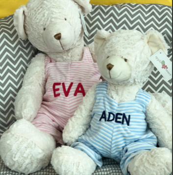 Personalized Plush Teddys