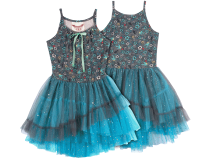Tatoo Reboot Layered Tutu Dress