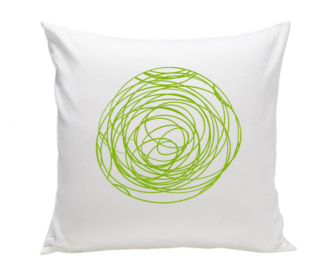 Spun Pillow - Green