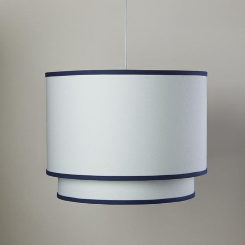 White/Cobalt Double Cylinder