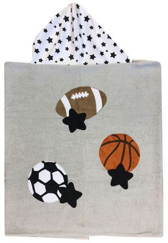 All Sports Luxe Terry Hooded Towel