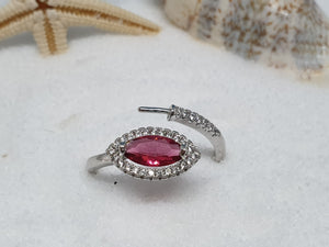 "106 zilveren ring ""bling rose"""