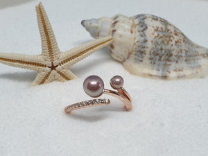 "130 zilveren ring ""rose special"""