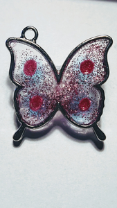 resin art hanger ' butterfly'