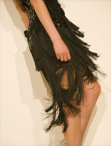Chainette Fringe Dress