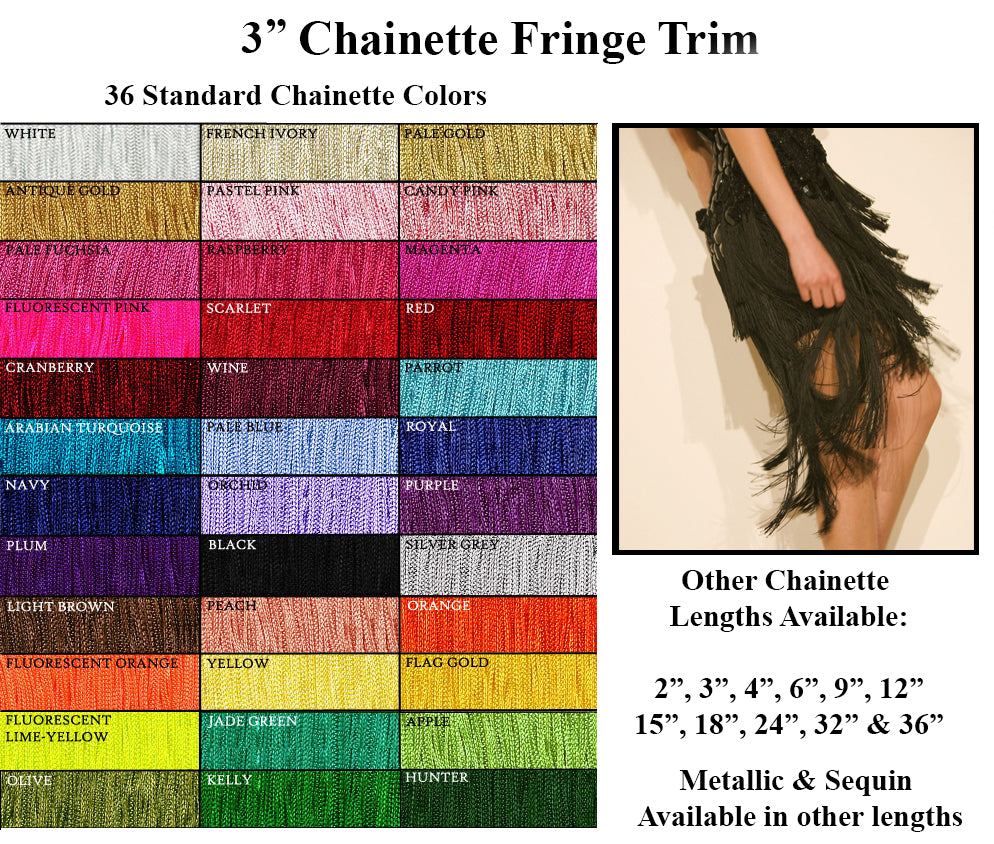 Costume and Dance Fringe Trim