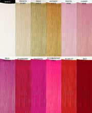 Costume Fringe Trim Colors