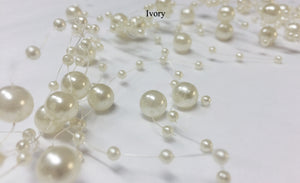 Ivory Pearl Beaded Garland | Sale