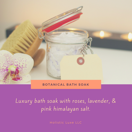 Botanical Bath Soak 4oz