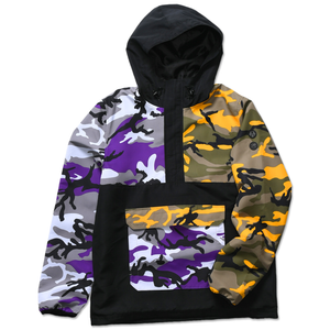 ROTHCO x VITRIOL COBRA COLORBLOCK CAMO ANORAK