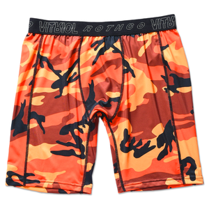 ROTHCO x VITRIOL QUIRK ORANGE CAMO UNDERWEAR