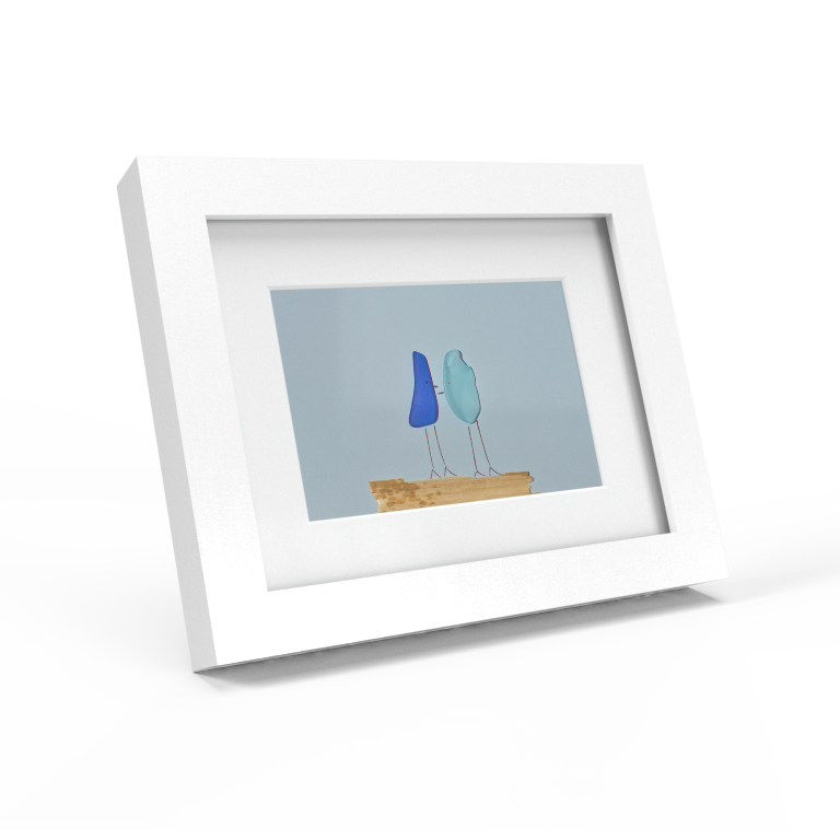Family Sea Glass Frames