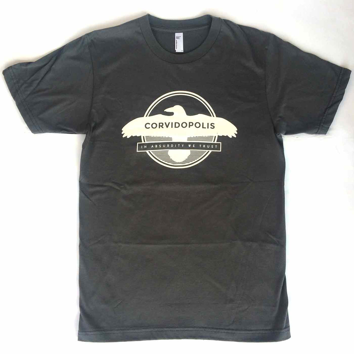 In Absurdity We Trust Corvidopolis Tee