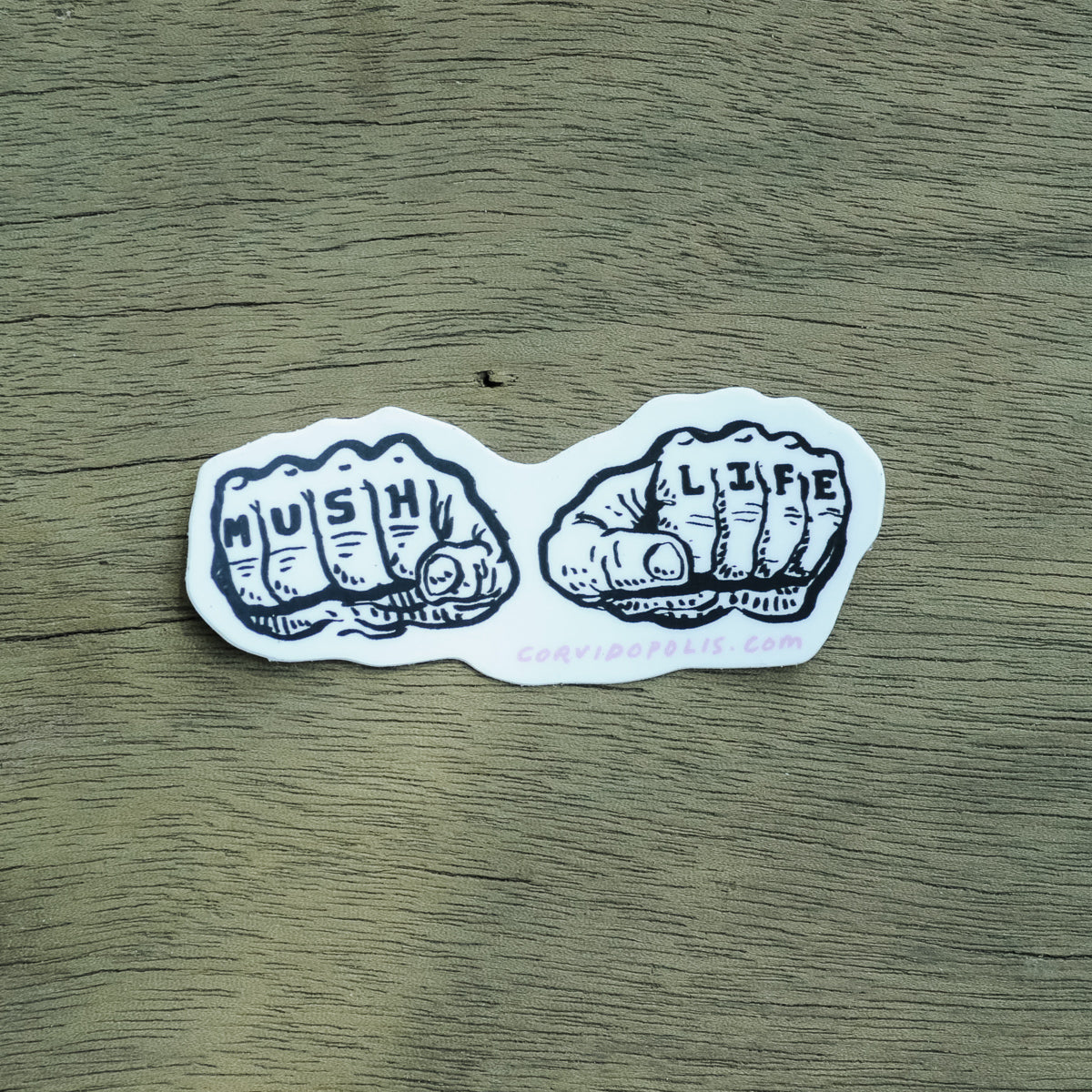 Mush Life Sticker