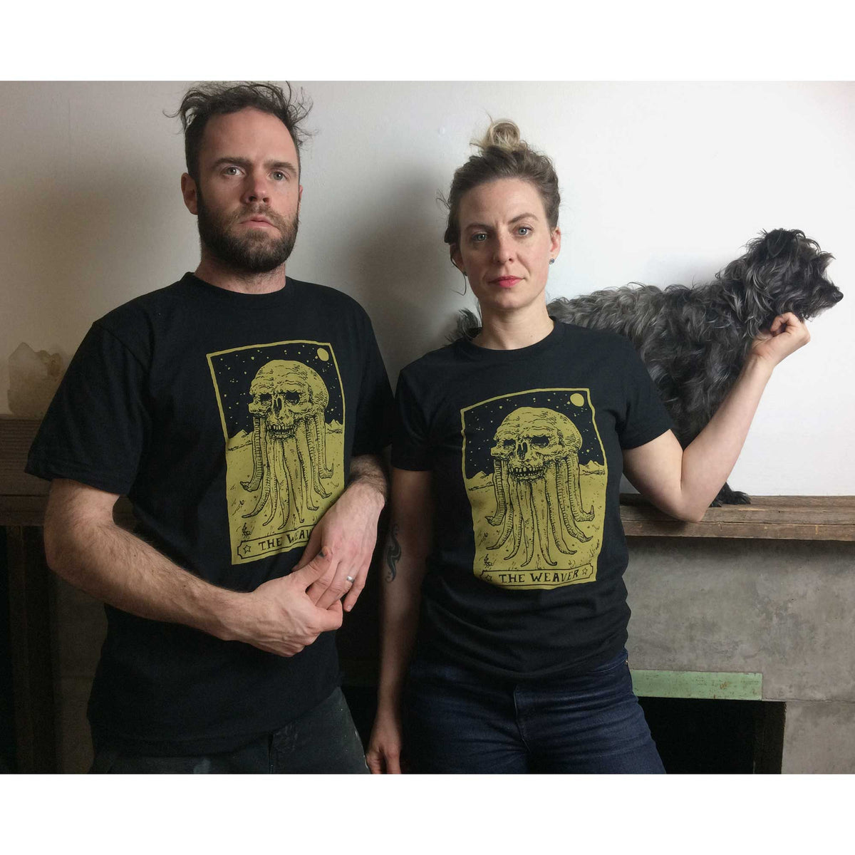 The Weaver Corvidopolis Tarot Tee