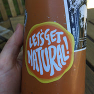 Let's Get Natural Sticker