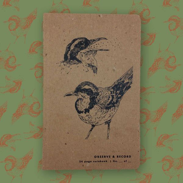 Songbird Screen Printed Journal