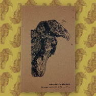 Vulture Screen Printed Journal